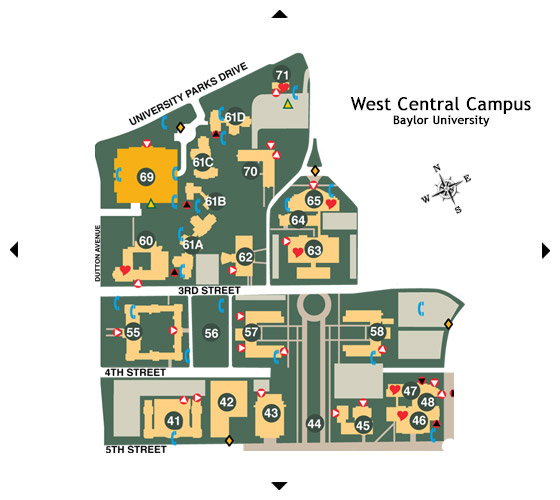 West Central Campus Map
