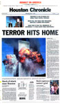 The Houston Chronicle - September 12, 2001  - Page 1