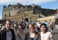 Castle at Edinburgh