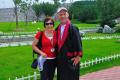 Mr. & Mrs. Leman in Three Gorges Dam