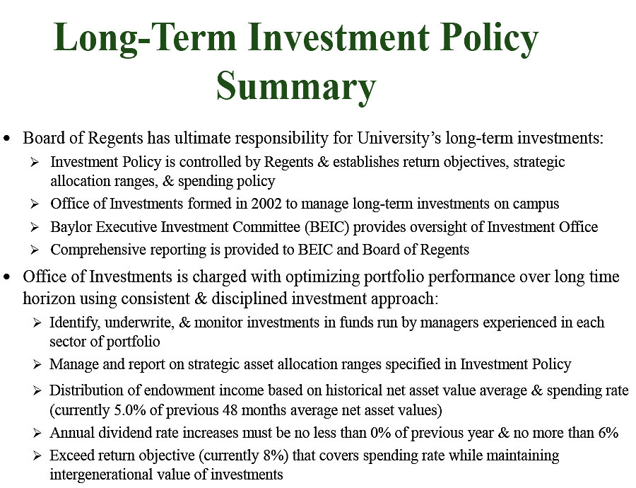 long term investments It is very difficult to forecast in the short term where prices of assets (including property) are heading, with a 50 per cent probability of getting it right.