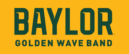 Baylor Golden Wave Band Logo